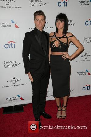 Shaun White and Sarah Barthel - A host of celebs were snapped as they attended Universal Music Group's Grammy After...
