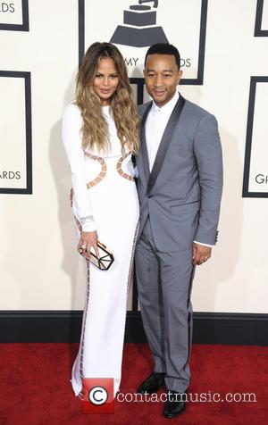 John Legend and Chrissy Teigen - A variety of stars from the music industry all turned out in style to...