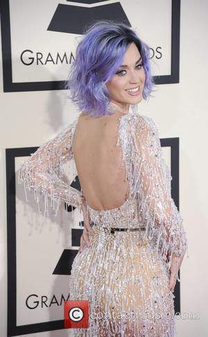 Katy Perry - A variety of stars from the music industry all turned out in style to attend the 57th...