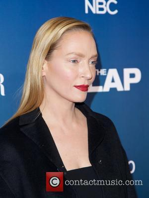 Uma Thurman - Shots of a variety if stars as they attend the New York Premiere party for 'The Slap'...