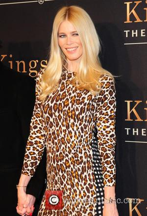 Claudia Schiffer - New York premiere of 'Kingsman: The Secret Service'  - Arrivals - New York City, New York,...