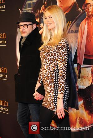 Matthew Vaughn and Claudia Schiffer - New York premiere of 'Kingsman: The Secret Service'  - Arrivals - New York...