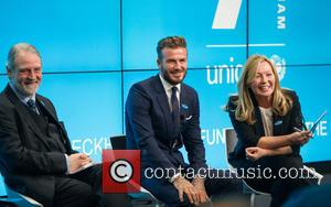 David Beckham, David Bull and Kirsty Young