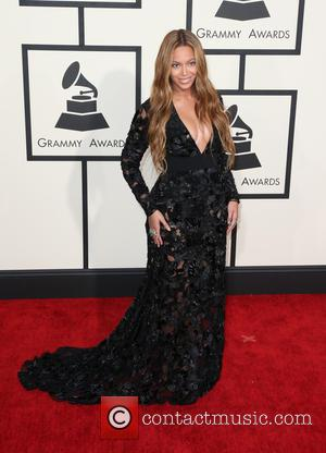 Beyonce - A variety of stars from the music industry all turned out in style to attend the 57th Annual...
