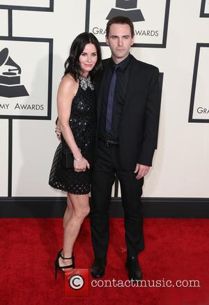 Courteney Cox and John McDaid - A variety of stars from the music industry all turned out in style to...