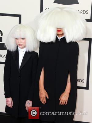 Sia and Maddie Ziegler - A variety of stars from the music industry all turned out in style to attend...