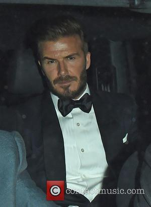 David Beckham - EE British Academy Film Awards (BAFTA) - After Parties at The Grosvenor House Hotel - Departures at...