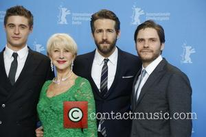 Max Irons, Helen Mirren, Ryan Reynolds and Daniel Bruhl (