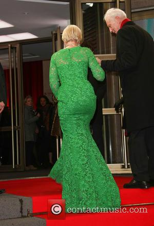 Helen Mirren Falls Over At Film Premiere