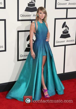 Taylor Swift and Taylor Swift - The 57th Annual GRAMMY Awards at Los Angeles, Grammy Awards - Los Angeles, California,...