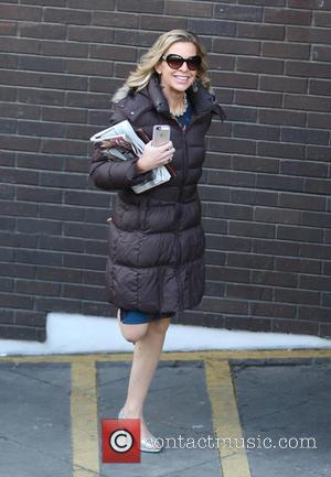 Katie Hopkins - Katie Hopkins outside ITV Studios - London, United Kingdom - Monday 9th February 2015