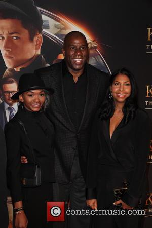 Elisa Johnson, Magic Johnson and Cookie Johnson