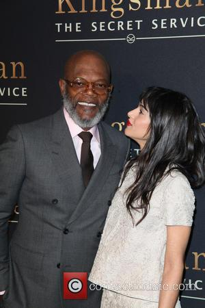 Samuel L. Jackson and Sofia Boutella -