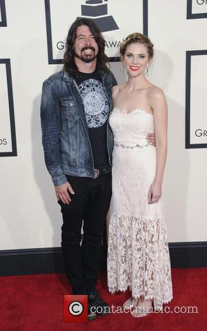 Dave Grohl - A variety of stars from the music industry all turned out in style to attend the 57th...