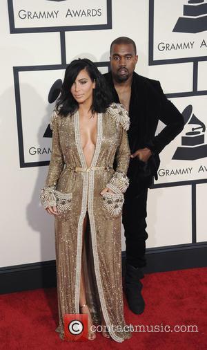 Kim Kardashian and Kenya West