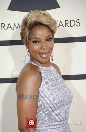 Mary J. Blige - A variety of stars from the music industry all turned out in style to attend the...