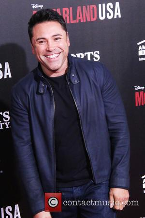 Oscar De La Hoya - A host of stars were photographed as they arrived at the world premiere of Disney's...