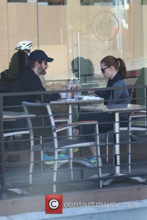 Amy Adams and Darren Le Gallo - Amy Adams and Darren Le Gallo have breakfast together in West Hollywood -...