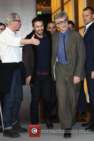 Wim Wenders and James Franco - 65th Berlin International Film Festival (Berlinale) - Everything Will Be Fine - Photocall at...