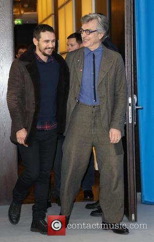 Wim Wenders and James Franco