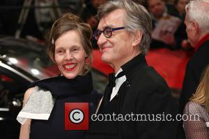 Wim Wenders and Donata Wenders - The 65th Berlin Film Festival/Berlinale 2015 - 'Everything Will Be Fine' - Arrivals -...