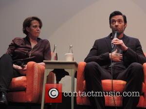 Sigourney Weaver and Hugh Jackman - Shots of the stars of new sci-fi film 'Chappie' as they attend a press...