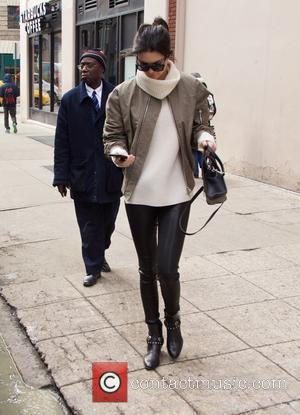 Kendall Jenner - Hailey Baldwin and Kendall Jenner spotted in SoHo - New York City, New York, United States -...