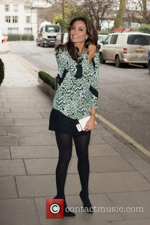 Melanie Sykes - The Year of Mexico - lunch held at the Savoy, Arrivals. - London, United Kingdom - Tuesday...