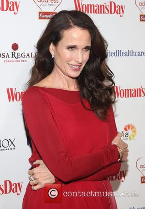 Andie MacDowell - 12th Annual Woman's Day Red Dress Awards at 10 Columbus Circle - Red Carpet Arrivals - New...
