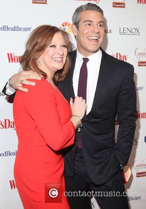 Caroline Manzo and Andy Cohen