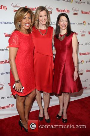 Hoda Kotb, Susan Spencer and Kassie Means