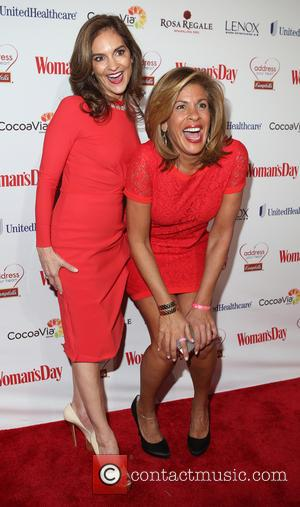 Joy Bauer and Hoda Kotb