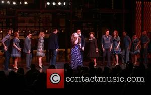Jarrod Spector, Anika Larsen, Scott J. Campbell, Jessie Mueller, Paul Anthony Stewart, Liz Larsen and Cast
