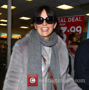Davina McCall - Contestants from tv series 'The Jump' arrive back at Gatwick Airport - London, United Kingdom - Tuesday...