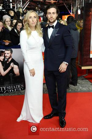 Sam Taylor-johnson and Aaron Taylor-johnson
