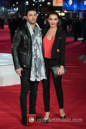 Amy Jackson and Guest - Focus Special Screening held at the Vue West End - Arrivals. - London, United Kingdom...