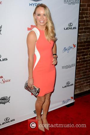 Caroline Wozniacki - Sports Illustrated Celebrates Swimsuit 2015  - Red Carpet Arrivals - Manhattan, New York, United States -...
