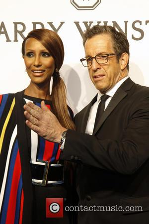 Kenneth Cole and Iman