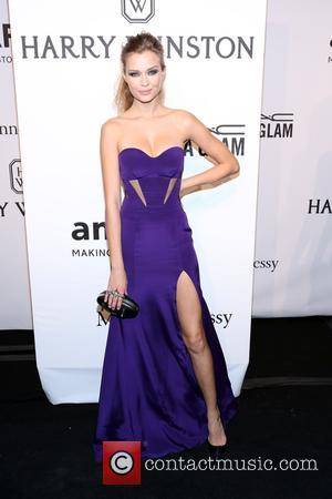 Josephine Skriver - A host of stars were snapped as they arrived for the 2015 amfAR (The Foundation for AIDS...