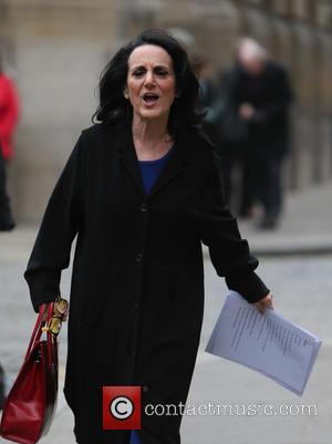 Lesley Joseph - The Service of Thanksgiving for the life of Lynda Bellingham Pattemore OBE at St. Stephens Walbrook -...