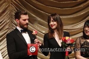 Jamie Dornan and Dakota Johnson - 65th Berlin Film Festival (Berlinale) - 'Fifty Shades of Grey' - Arrivals at Zoo...
