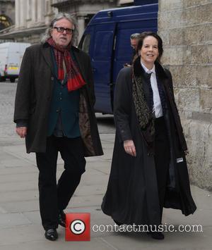Lynda Bellingham and Guest