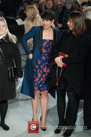Amelia Warner - Fifty Shades of Grey - UK film premiere held at the Odeon Leicester Square. at Odeon Leicester...