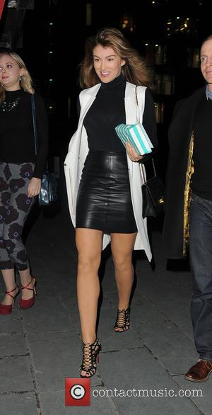 Amy Willerton - John Frieda launch party at OXO Tower - London, United Kingdom - Thursday 12th February 2015