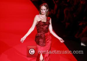 Catt Sadler - Mercedes-Benz Fashion Week Fall 2015 - Go Red For Women Red Dress Collection - Runway - New...
