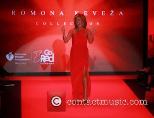 Hoda Kotb - Mercedes-Benz Fashion Week Fall 2015 - Go Red For Women Red Dress Collection - Runway - New...