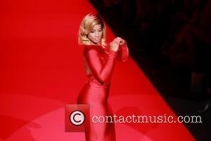 La La Anthony - Mercedes-Benz Fashion Week Fall 2015 - Go Red For Women Red Dress Collection - Runway -...