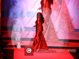 Star Jones - Mercedes-Benz Fashion Week Fall 2015 - Go Red For Women Red Dress Collection - Runway - New...