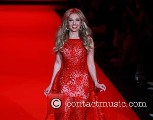 Thalia - Mercedes-Benz Fashion Week Fall 2015 - Go Red For Women Red Dress Collection - Runway - New York...