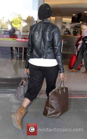 NeNe Leakes - NeNe Leakes departs from Los Angeles International Airport (LAX) - Los Angeles, California, United States - Thursday...